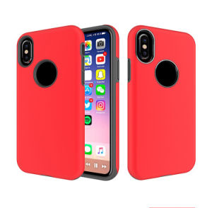 iPhone 10Xのための1つの完全な保護携帯電話の箱カバーに付き2つ