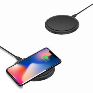 Hot vender Precio competitivo Qi cargador inalámbrico Pad para iPhone