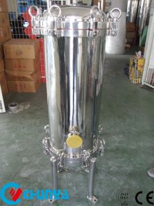 Custodia di filtro dell'acqua della cartuccia dell'acciaio inossidabile del commestibile