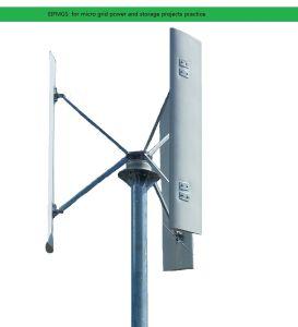 De verticale Turbine van de Wind die door Rickey Liang Eifpmg wordt ontworpen