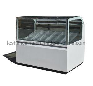 Buona qualità del congelatore della visualizzazione del Popsicle