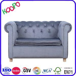 2 Lugares Squre Kids poltrona sofá cama de estar mobiliário de crianças