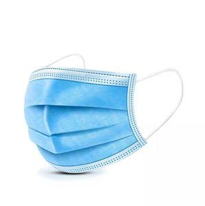 3 plis masque médical jetable masque respirateur