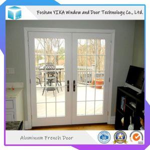 Portello di alluminio della stoffa per tendine di vetro Tempered della rottura termica di colore del doppio di qualità superiore