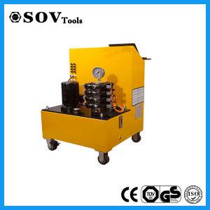 Sistema di sollevamento idraulico sincrono a semplice effetto del PLC del Sov