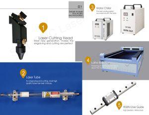 Древесина акрилового пластика MDF CO2 лазерная гравировка цена машины реза