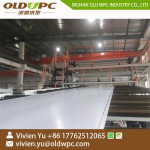 機械を作るPVC放出ラインタイルの木製のマットSpcの床