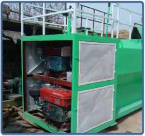 Forma alta inclinação Hydroseeding ecologizar a máquina