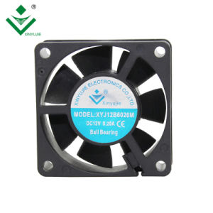 60mm 2.4インチ12ボルト加湿器のクーラー60X60X20のための24のボルト軸DCの冷却ファン