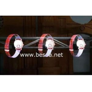 Ventilatore del LED che fa pubblicità all'ologramma della strumentazione 3D