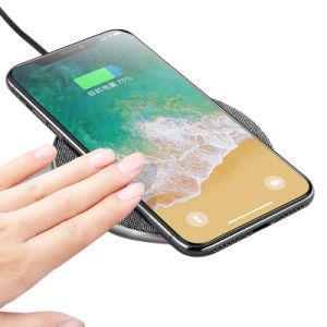 Superventas 2018 en EE.UU 7,5 W 10W de carga rápida de inalámbrica Qi Wireless Cargador de teléfono móvil