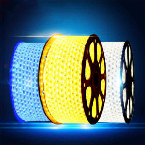 Striscia di tensione 220V 4W/M SMD3528 LED di Decoratiom di festa