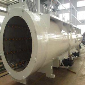 PE 플라스틱 관 압출기 기계 밀어남 선