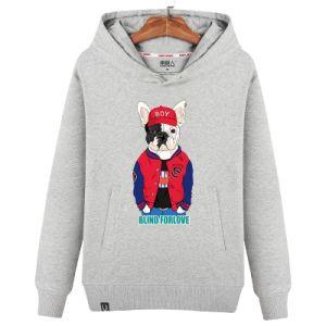 Impressão personalizada de moda Logotipo Camisolas Soild Hoody de cor para o homem