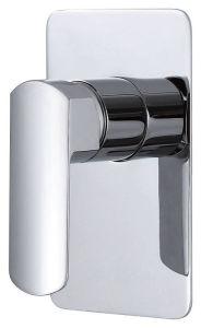 高いボディ単一のレバーの真鍮の熱く冷たい洗面器の混合弁(8017C)