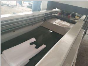 Sacchetto non tessuto che fa macchina con il sigillamento ultrasonico (ZXL-A700)