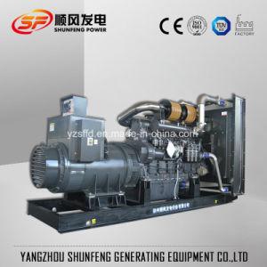 Stille Diesel van de Stroom van 1000kVA Geluiddichte Shangchai Sdec Generator