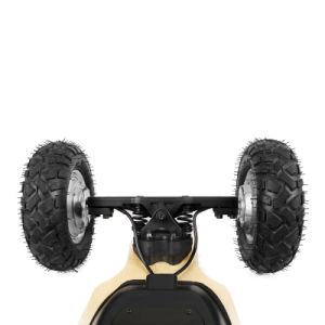 Новая конструкция E-скутер четыре колеса электрический роликовой доске