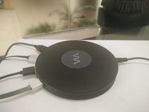 Handy48w qi-drahtlose Aufladeeinheit mit multi Kanal USB-aufladenankern-Station