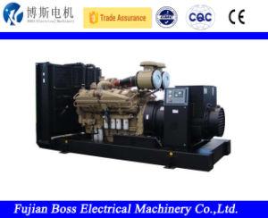 Cummins Engineのディーゼル発電機セットのディーゼルGensetによって動力を与えられる60Hz 620kw 775kVAのWater-Coolingの無声防音