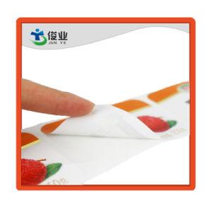 De hoge Zelfklevende Sticker van het Voedsel van de Pinda van de Okkernoot/Aangepast Etiket