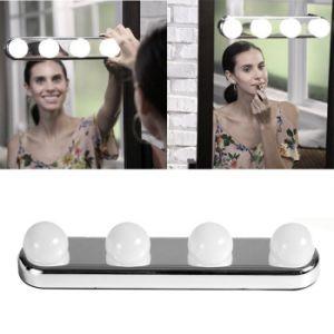 4 Lâmpadas LED portátil Studio Glow compõem a luz super brilhante de luz do Kit de Reposição do espelho de maquiagem alimentado por bateria (JGL0013)