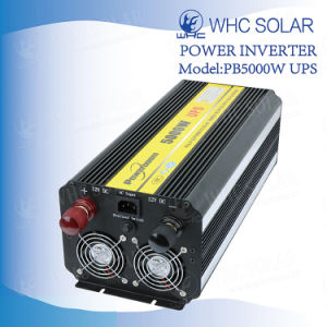 Powerboom 5000W ИБП солнечной энергии инвертор зарядки