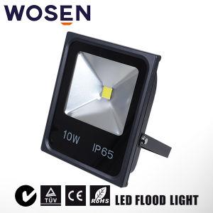 TUV SAAの証明の屋外IP65 10W LEDの洪水ライト