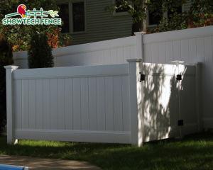 Clôture de la vie privée en vinyle à bon marché rentable pour la maison