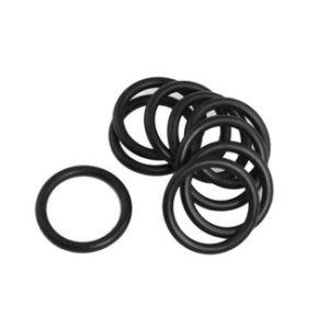 Rubberdie O-ring van FKM Viton wordt gemaakt