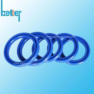 주문 Silicone/FKM/Neoprene/EPDM/Nitrile/PTFE 고무 틈막이 또는 세탁기 또는 물개는 O 반지를 캡슐에 넣었다