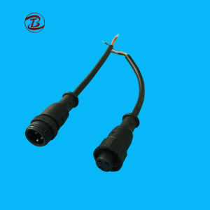 2-12 Pinの円のプラスチック防水コネクターのプラグ