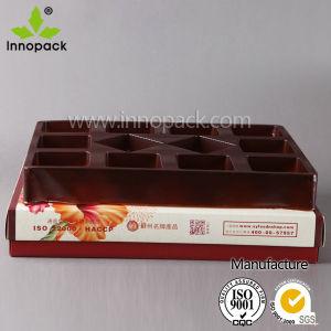 Het Vakje van het Document van de chocolade met Verdeler
