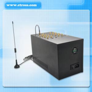 Uso globale IMEI Bts variabile, supporto di fotoricettore, controllo dell'ingresso di GSM VoIP dell'ingresso di GoIP delle 16 carte delle scanalature 16 SIM di equilibrio di SIM