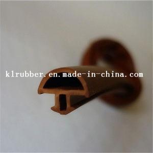 Vidro da porta de madeira fita de vedação de borracha