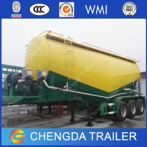 Fabricante chinês 3eixos 60ton Flyash Navio petroleiro de carga do reboque de cimento
