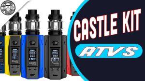 El castillo de Atvs Acevapetech 225W VW Tc Cuadro Apv Mod cigarrillo electrónico Vape