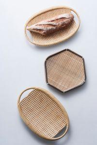 La mélamine plaque ovale avec poignée/plaque ovale/plaque d'armure (BJ13840-10)