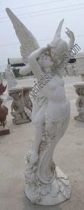 De Marmeren Snijdende Standbeelden van de steen voor het Beeldhouwwerk van de Tuin (sy-X1252)