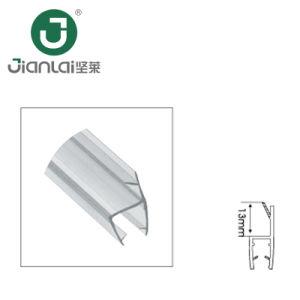 Tira de Borracha à prova de PVC de chuveiro em vidro fita de vedação da porta do compartimento