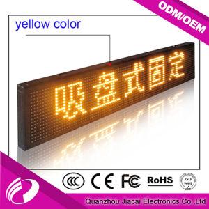 U P4 de contrôle de disque plein écran LED de taxi de couleur pour la publicité