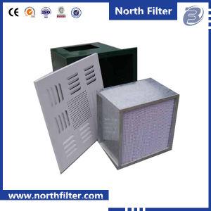 スムーズな拡散器の版が付いているクリーンルームの空気充満HEPAフィルターボックス