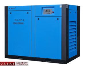 Compressore d'aria a due fasi della vite di alta efficienza (75kw)