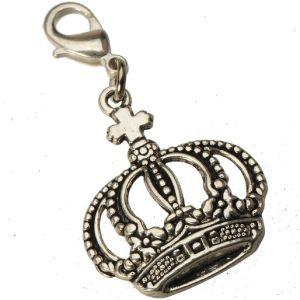 De enige Charmes van de Kroon met het Uitstekende Zilver van het Metaal van de Tegenhangers van de Halsbanden van de Dia van de Grepen van de Zeekreeft in Leveranciers van de Manier van de Voorraad de Nieuwe voor de Toebehoren van Juwelen