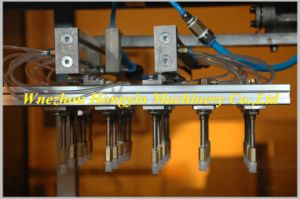 máquina de termoformação plástico automática com o empilhador