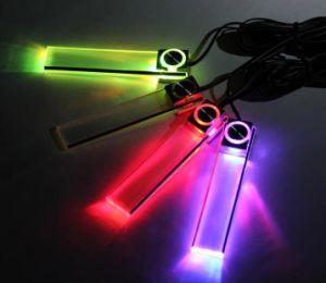 Аксессуары для автомобиля красочный индикатор Car Footlight