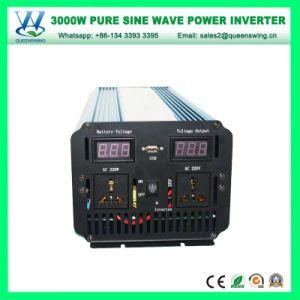 3000W DC24V AC220/240V alta freqüência senoidal pura Inversor de Energia (QW-P3000)