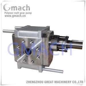 Pompa a ingranaggi della fusione del polimero di trasferimento della fusione del polimero e della pompa di innesco