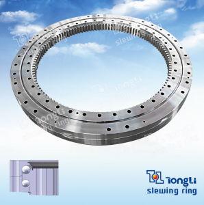Ökonomisches Doppeltes-Row Different Diameters Inner Gear Slewing Ring für Excavator mit ISO 9001