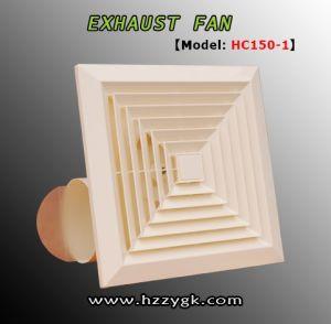 浙江の製造のプラスチック換気扇の天井に付いている扇風機4インチの換気扇(HC150-1)
